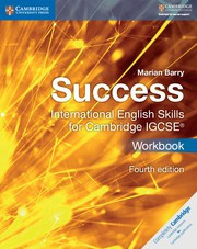 Success International English Skills for IGCSE® Fourth Edition Workbook