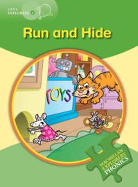 Little Explorers A -  Run and Hide Reader