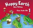 Happy Earth 1 New Edition Class Audio Cds