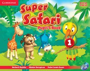 Super Safari British English Level1 Pupil's Book with DVD-ROM