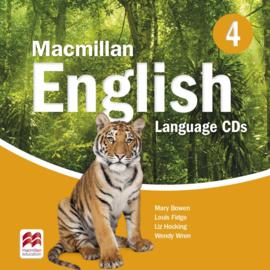 Macmillan English Level 4 Language Book Audio CD (2)