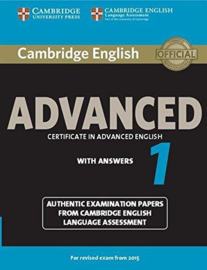 Cambridge English Advanced 1 Student's Book with answers