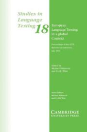European Language Testing in a Global Context Paperback
