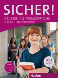 Sicher! B2/1 Studentenboek en Werkboek met CD-ROM bij het Werkboek Les 1–6