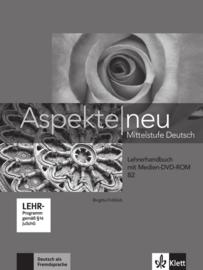 Aspekte neu B2 Lerarenboek met Digitaalr Medien-DVD-ROM