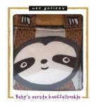 Knuffelboekje Luiaard (Wee Gallery)