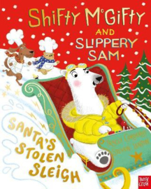 Shifty McGifty and Slippery Sam: Santa's Stolen Sleigh (Tracey Corderoy / Steven Lenton) Hardback Picture Book