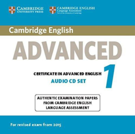 Cambridge English Advanced 1 Audio CDs (2)