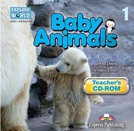 Baby Animals (explore Our World) Cd-rom