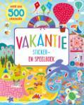 Vakantie sticker- en speelboek (Vitataal) (Paperback / softback)