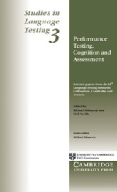 Performance Testing, Cognition and Assessment Paperback