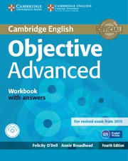 Objective Advanced Fourth edition Workbook with answers with Audio CD