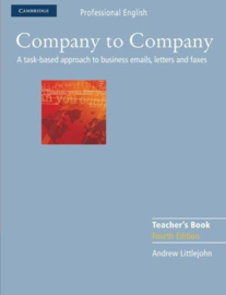 Company to Company Fourth edition Teacher's Book