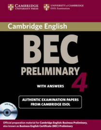 Cambridge BEC 4 Preliminary Self-study Pack