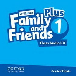 Family & Friends 2e Plus 1 Class Audio CD