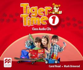 Tiger Time 1 Class Audio CD (2)
