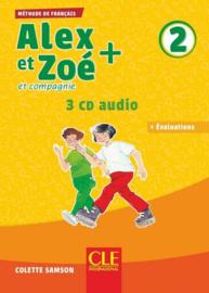 Alex Et Zoe Plus Niveau 2 - Eleve + Cd