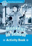 Oxford Read And Imagine Level 1: Monkeys In School Activity Book