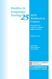 IELTS Washback in Context Paperback