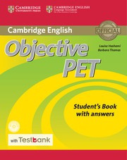 Objective PET Second edition Student's Book with answers with CD-ROM with Testbank