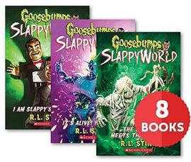 Goosebumps SlappyWorld #1-8 Bundle (Pack of 8)