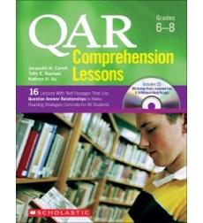 QAR Comprehension Lessons Grades 6-8