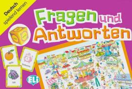 Fragen en Antworten 1 Poster 1 Würfel 66 Karten Spielanleitung