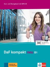 DaF kompakt neu B1 Studentenboek en Übungsbuch met MP3-CD