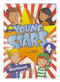 Young Stars 4 Workbook (Incl. CD)