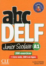 ABC DELF Junior scolaire - Niveau A1 - Livre + DVD + Livre-web - 2ème édition