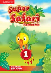 Super Safari British English Level1 Flashcards (Pack of 40)