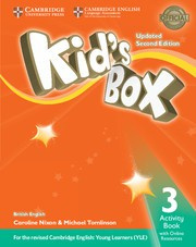 Kid's Box Updated Second edition Level3 Activity Book with Online Resources