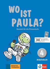 Wo ist Paula? 4 Werkboek met CD-ROM (MP3-Audios)