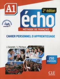 Echo - Niveau A1 - Cahier personnel dapprentissage + CD audio + livre-web - 2ème édition