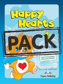 Happy Hearts 1 Teacher's Mini Pack (multi-rom Dvd ) New