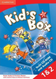 Kid's Box Levels 1-2 Test CD-ROM and Audio CD