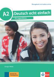 Deutsch echt einfach A2 Oefenboek met Audio online