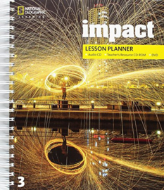 Impact 3 Lesson Planner + Audio Cd + Trcd + Dvd