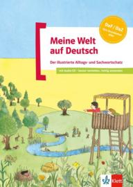 Meine Welt auf Deutsch Buch + Audio-CD