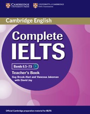 Complete IELTS Bands6.5-7.5C1 Teacher's Book