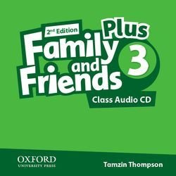 Family & Friends 2e Plus 3 Class Audio CD