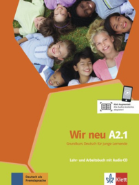 Wir neu A2.1 Studentenboek en Werkboek met Audio-CD