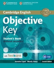 Objective Key Second edition Student's Book without answers with CD-ROM with Testbank