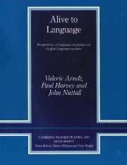 Alive to Language Paperback