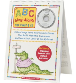 ABC Sing-Along Flip Chart  CD