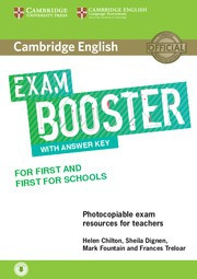 Cambridge English Exam Boosters Booster for First and First for Schools Teacher's Book with Answer Key with Audio