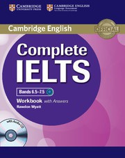 Complete IELTS Bands6.5-7.5C1 Workbook with answers with Audio CD