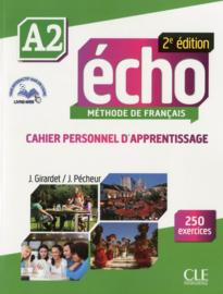 Écho - Niveau A2 - Cahier personnel dapprentissage + Livre web - 2ème édition