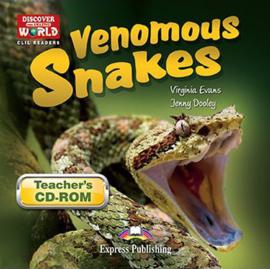 Venomous Snakes Teacher's Cd-rom (daw) International