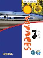 Voyages - nieuw 3  tekst-/werkboek + online-mp3's